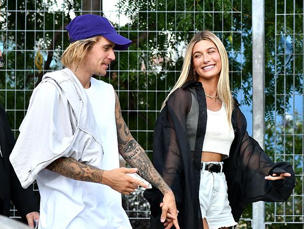 Justin Bieber & Hailey Baldwin at NYFW