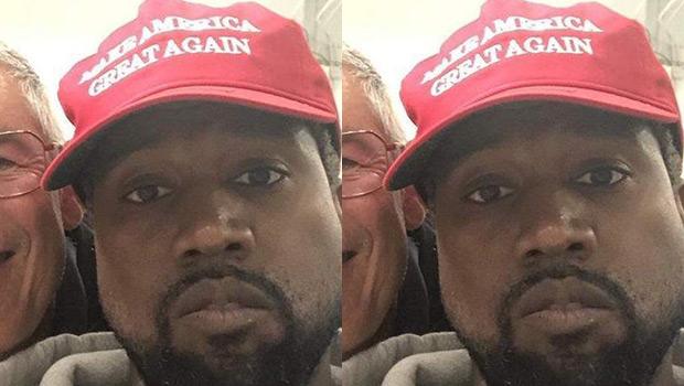 Kanye West MAGA hat Colin Kaepernick