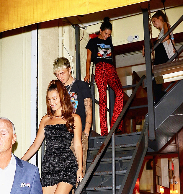 kendall jenner anwar hadid hanging out again