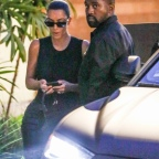 *EXCLUSIVE* It's date night for Kimye! Kim Kardashian and Kanye West arrive for Saturday dinner date at Cafe Habana in Malibu, CA