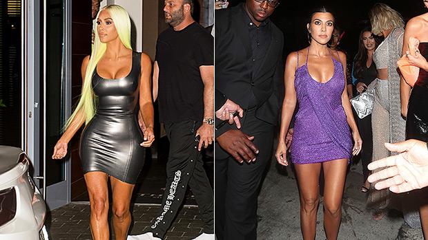 Kim Kardashian Kourtney Kardashian