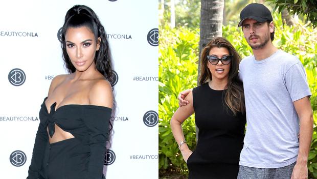 Kim Kardashian Wants Scott Disick Kourtney Kardashian Back Together
