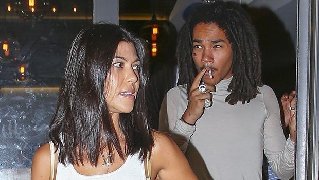 Kourtney Kardashian And Luka Sabbat