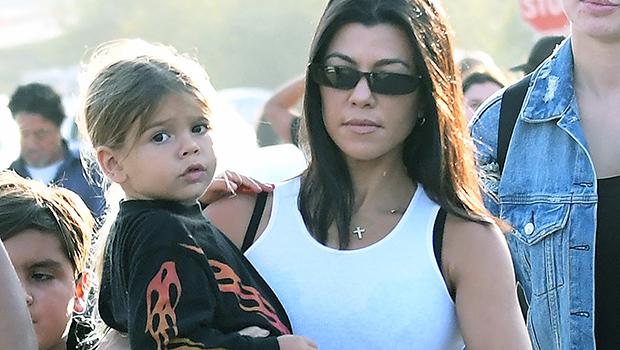 Kourtney Kardashian And Reigh Disick