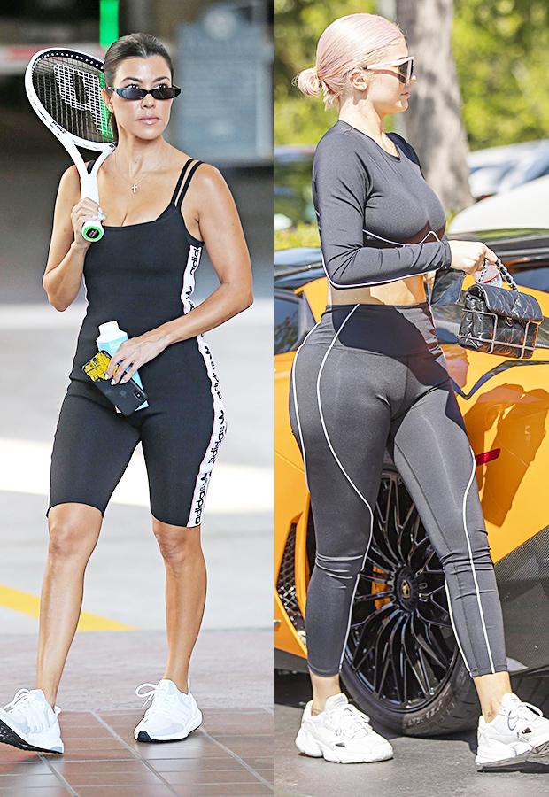 Kourtney Kardashian & Kylie Jenner