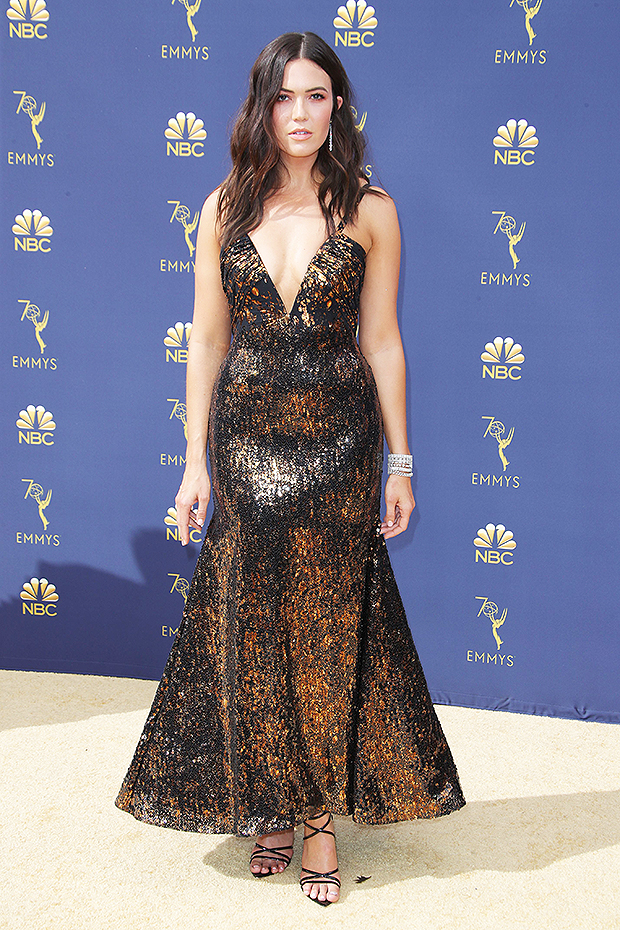 Mandy Moore Dress Emmys