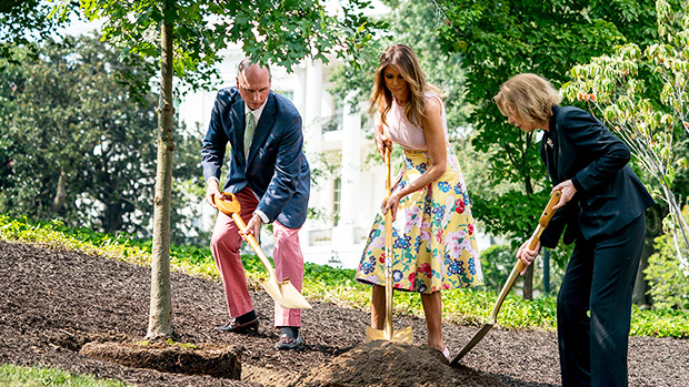 Melania Trump Gardening Heels
