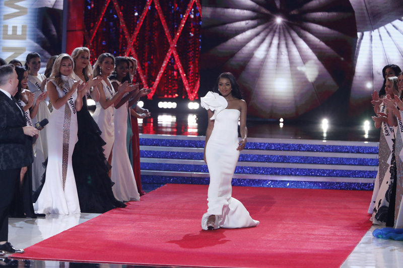 Nia Franklin Dress 2019 Miss America Pageant