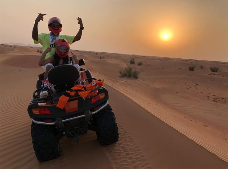Nicki Minaj Lewis Hamilton Dubai Pics