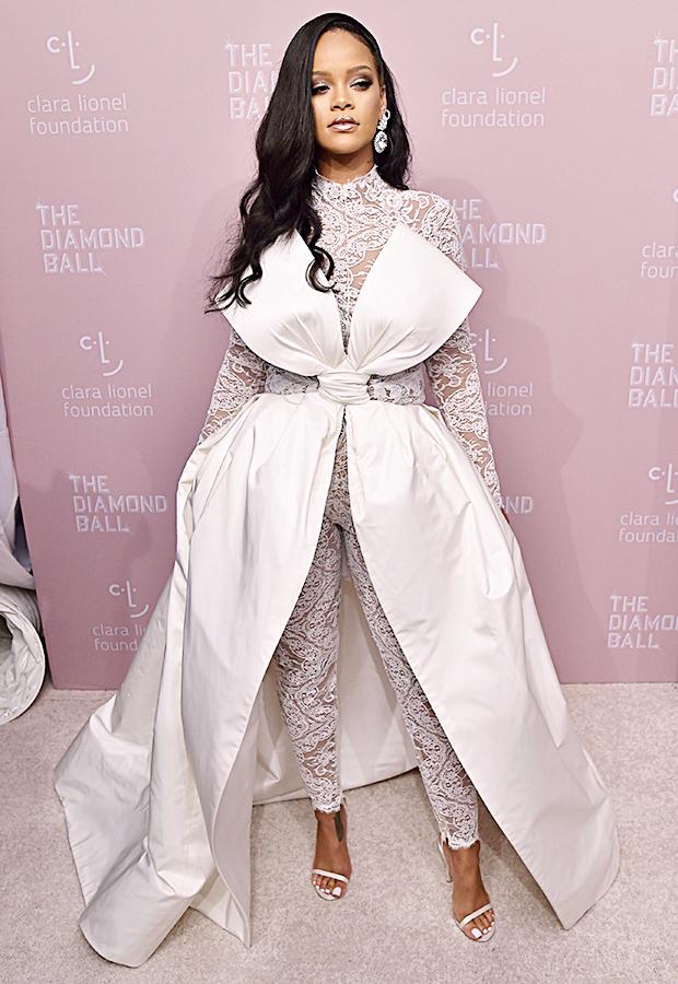 Rihanna Diamond Ball Outfit