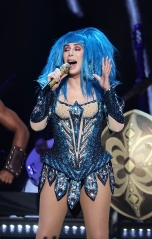 Cher performs during a concert at the Mercedes Benz Arena in Berlin, Germany, 26 September 2019. The concert is part of her world tour 'Here We Go Again'. Cher in concert, Berlin, Germany - 26 Sep 2019
