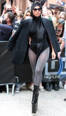 Lady Gaga is seen while in town for Tony Bennett & Lady Gaga at Radio City Music Hall Lady Gaga out and about, New York, USA - 28 Jul 2021