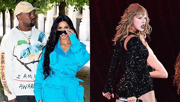 Kanye West Kim Kardashian Taylor Swift