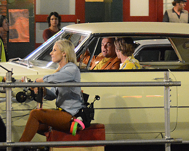 Brad Pitt & Leo DiCaprio 'Once Upon A Time In Hollywood'