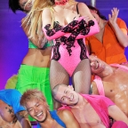 Britney Spears in concert, Femme Fatale Tour, Moscow, Russia - 24 Sep 2011