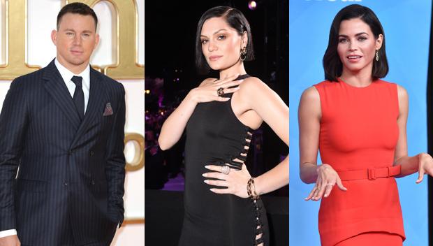 Channing Tatum, Jessie J, Jenna Dewan
