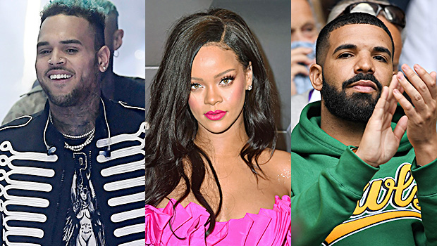 Rihanna Reacts To Chris Brown Drake S Friendship Are Exes Dissing Her Hollywood Life