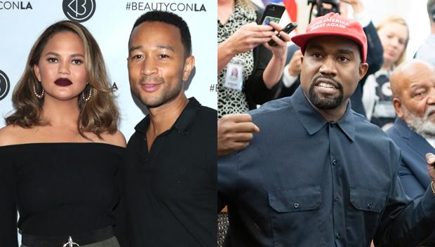 Chrissy Teigen John Legend Kanye West
