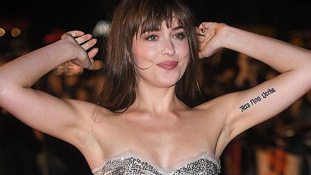 Dakota Johnson Armpit Hair