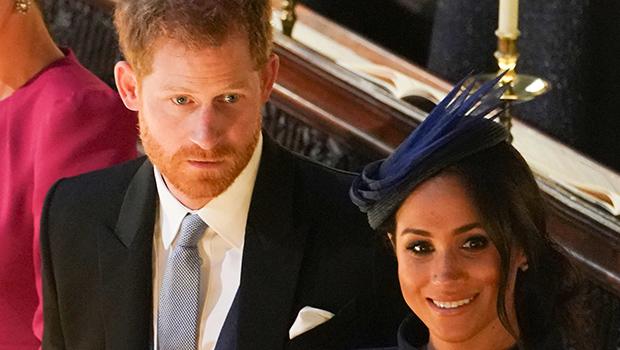 Meghan Markle Tells Off Prince Harry