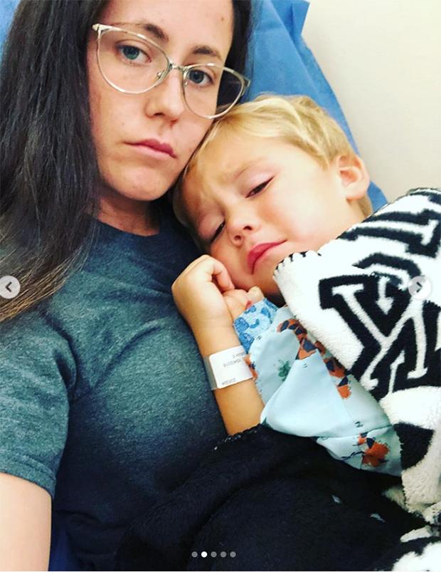 jenelle evans son surgery