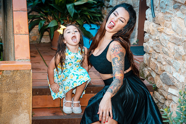 jwoww daughter vacation