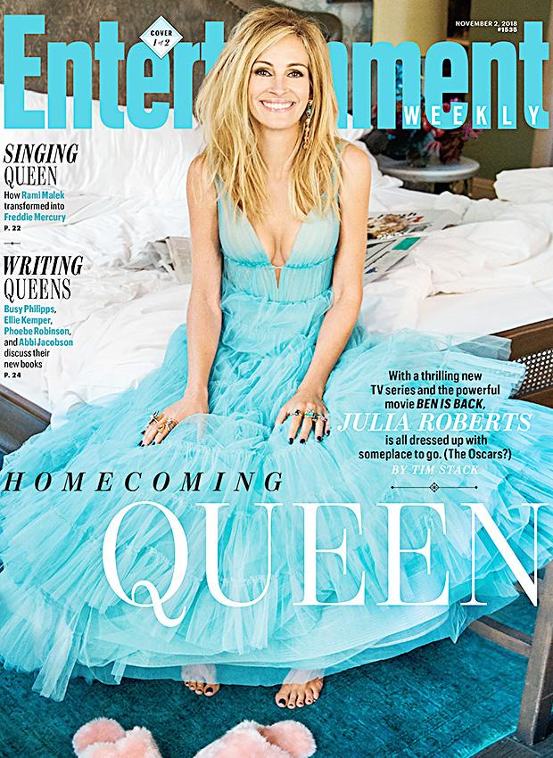 Julia Roberts Blue Dress