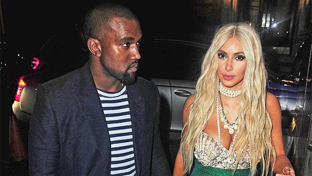 Kim Kardashian & Kanye West on Halloween