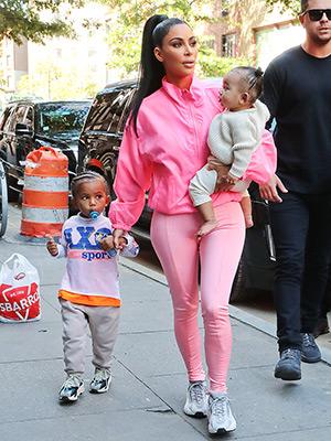 Kim Kardashian S Pink Outfits See Pics Hollywood Life