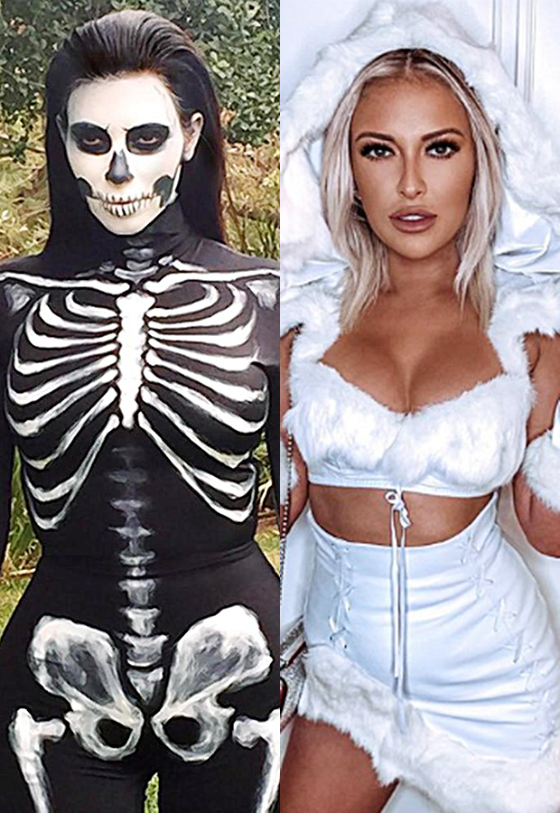 celebrity moms hot halloween costumes