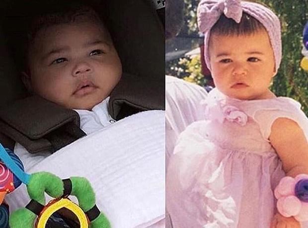 True Thompson, Khloe Kardashian
