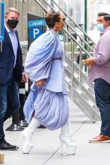 Lady Gaga arrives at Radio City Music Hall in New York City. 04 Aug 2021 Pictured: Lady Gaga. Photo credit: MEGA TheMegaAgency.com +1 888 505 6342 (Mega Agency TagID: MEGA776413_001.jpg) [Photo via Mega Agency]