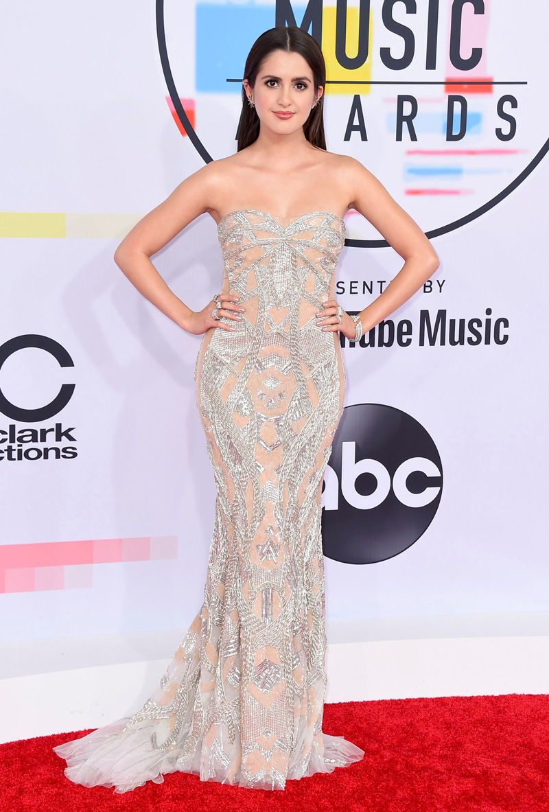 Laura Marano arrives at the American Music Awards, at the Microsoft Theater in Los Angeles2018 American Music Awards - Arrivals, Los Angeles, USA - 09 Oct 2018