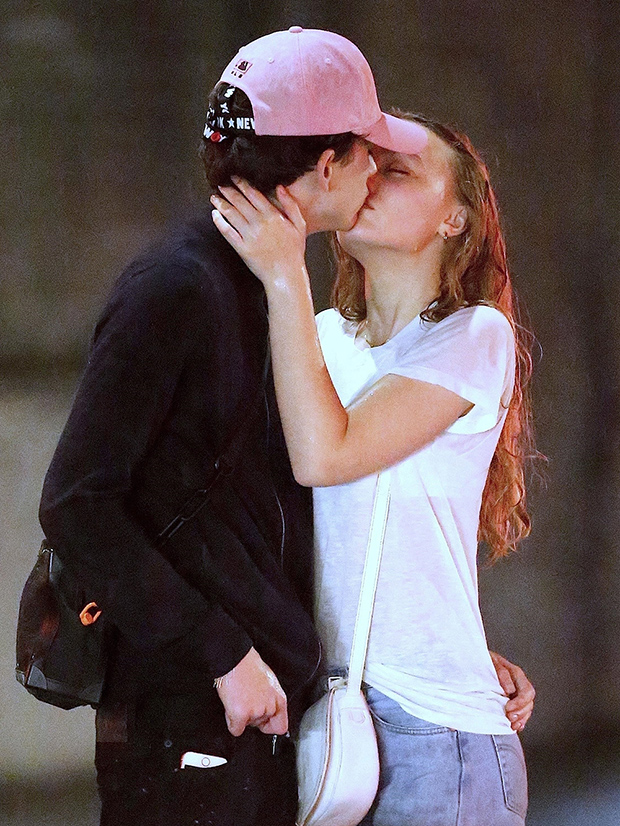 Lily-Rose Depp And Timothee Chalamet