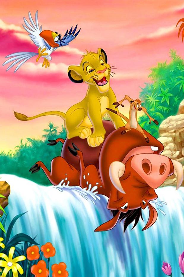 Zazu, Simba, Timon & Pumbaa