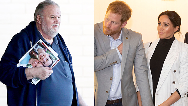 meghan markle dad reacts pregnancy