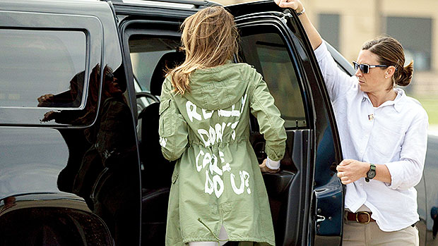 Melania Trump 'I Don't Care' Jacket