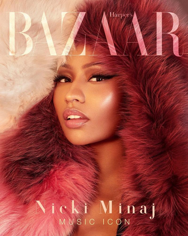 Nicki Minaj Harper's Bazaar Vietnam Cover