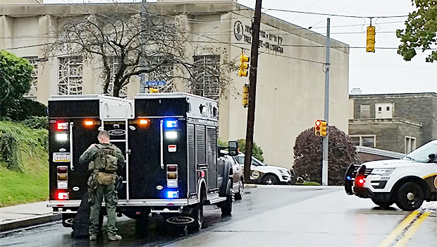 crime scene pittsburgh synagogue shooting