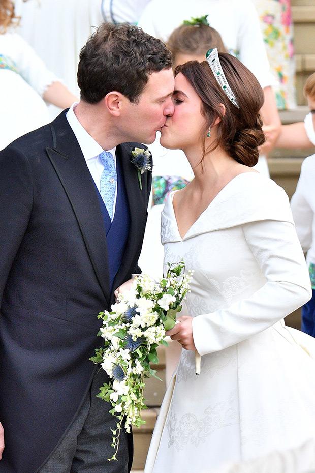 jack brooksbank princess eugenie kiss