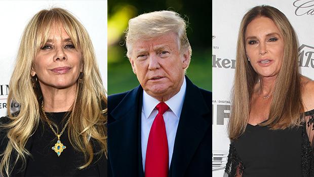 Rosanna Arquette, Donald Trump, Caitlyn Jenner