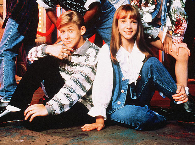 Britney Spears & Ryan Gosling on Mickey Mouse Club