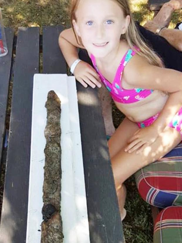 swedish girl finds viking sword