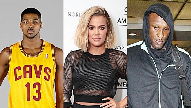 Tristan Thompson, Khloe Kardashian, Lamar Odom
