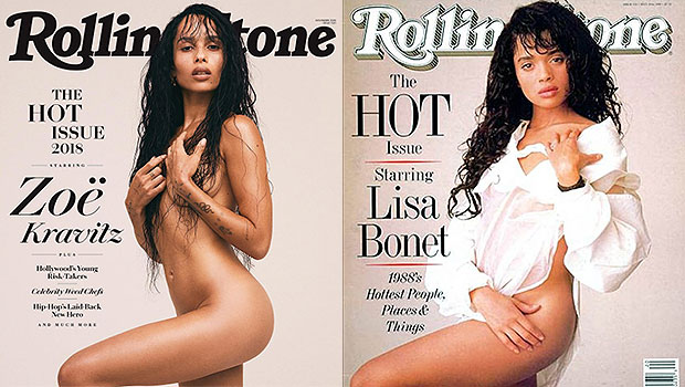 Zoe Kravitz & Lisa Bonet 'Rolling Stone' Cover