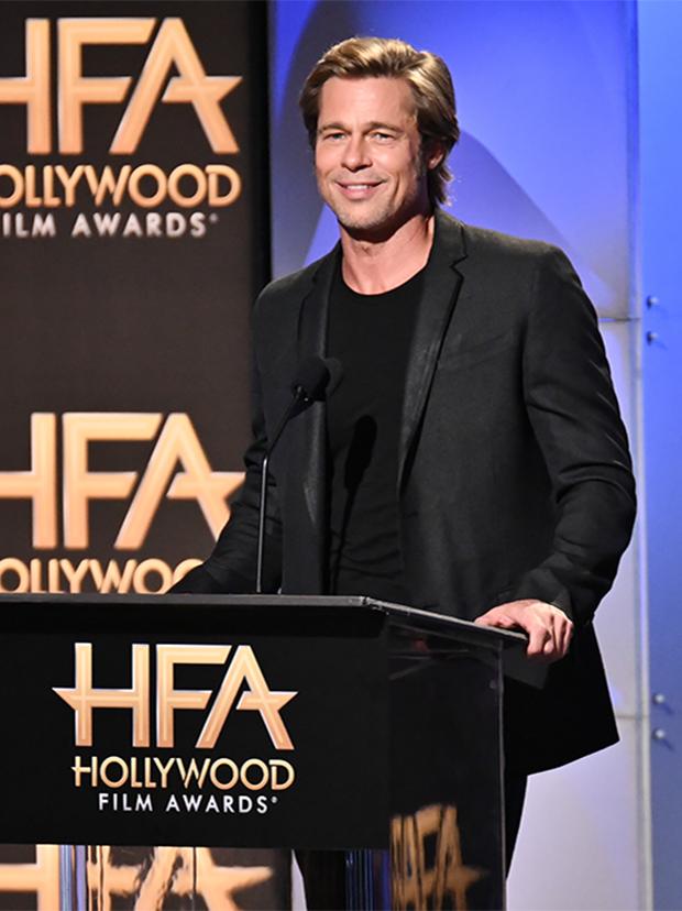 Brad Pitt Hollywood Film Awards 2018