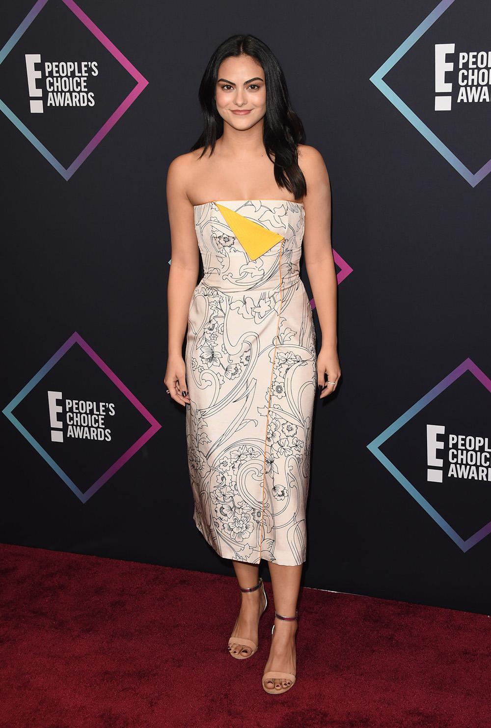 Camila Mendes Rocks A Colorful Bikini In Miami While Filming New Netflix Movie — Photo ...