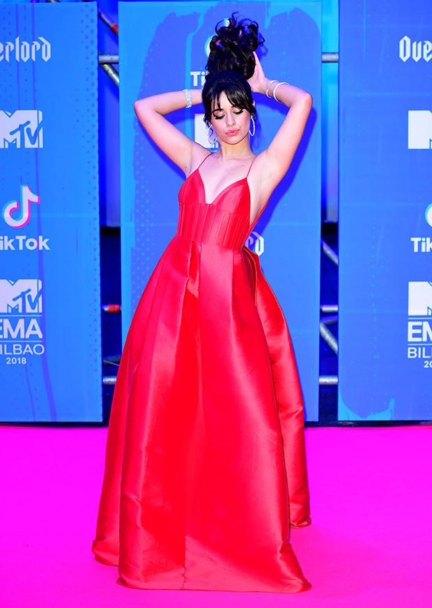 Camila Cabello EMAs 2018