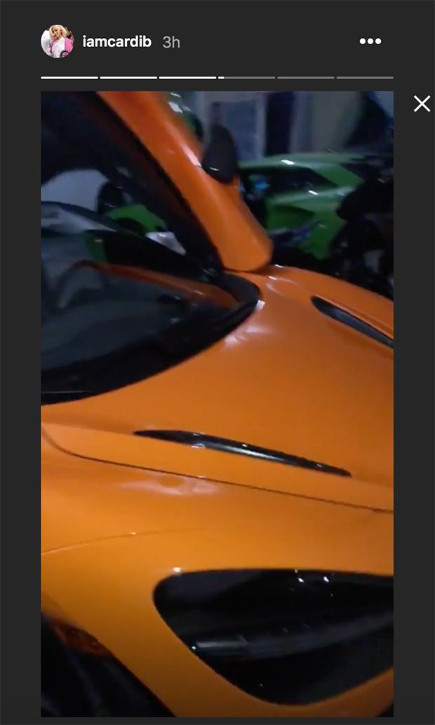 Cardi B Car