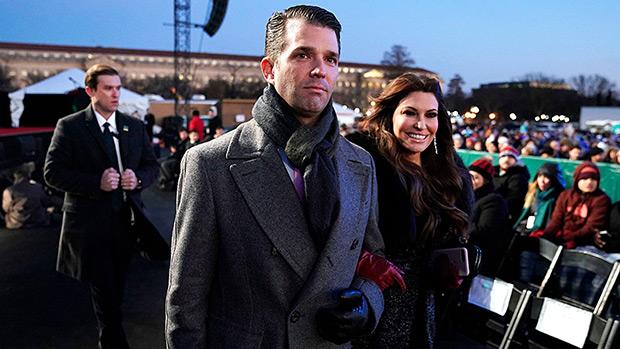 Donald Trump Jr & Kimberly Guilfoyle National Christmas Tree Lighting 2018
